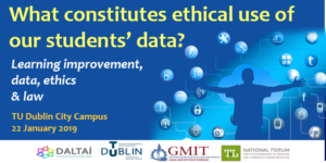 What constitutes ethical use of our students' data?